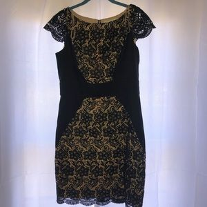 Jessica Simpson Black lace dress